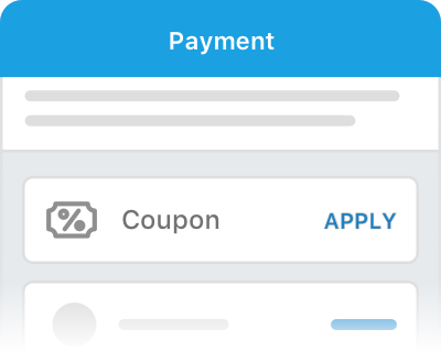 Click Apply on the payment page