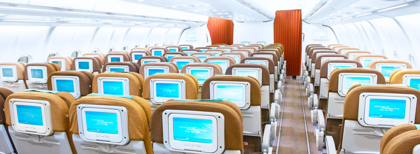 how to choose meals on garuda after booking
