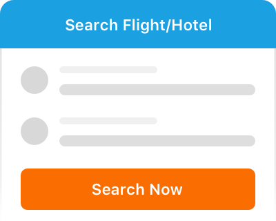 Search and book flight/hotel